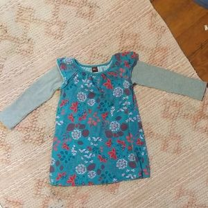 Tea Collection Girls Size 2 Casual Dress